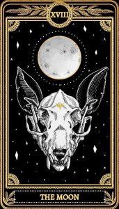 карта таро луна