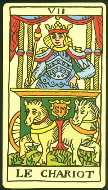 колесница таро